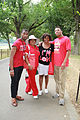 Fraternity brothers and sorority sisters in red - 50th Anniversary of the March on Washington for Jobs and Freedom.jpg