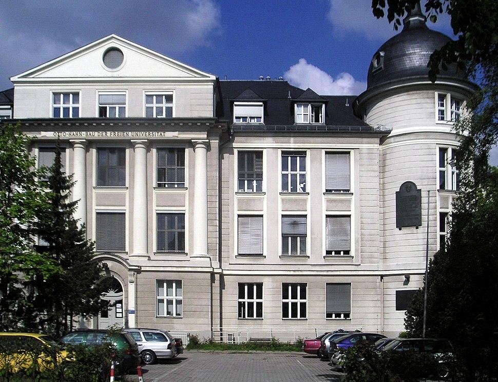 Freie Universitaet Berlin - Otto-Hahn-Bau 2