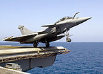 French Rafale M launch from USS Enterprise.jpg