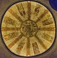 Frescoes on the dome in Saint Stephen Cathedral in Cahors.jpg