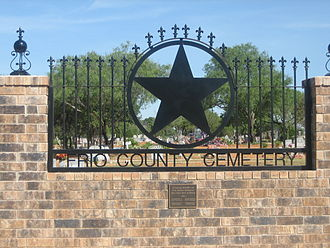 Frio County, Texas - Frio County Cemetery is located just off Interstate 35 in Pearsall.