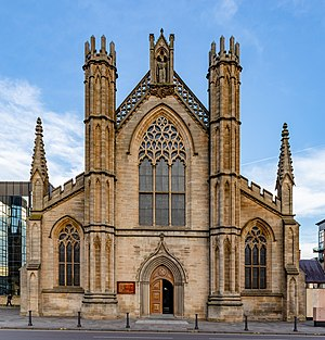 Front view of the St Andrew's Cathedral, Glasgow, Scotland 16.jpg