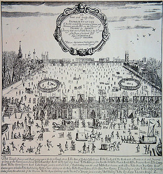 River Thames frost fair, 1683 Frost Fair of 1683.JPG