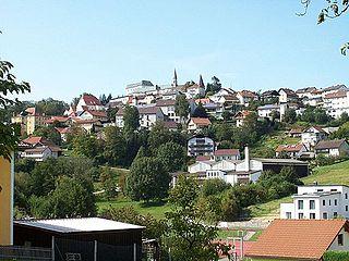 Fürstenstein Place in Bavaria, Germany