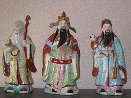 Afbeeldingsresultaat voor drie wijzen uit CHINA