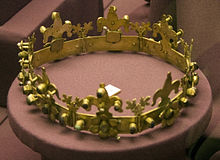 Stephen V's funeral crown