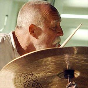 Günter Sommer - Günter Sommer in Aarhus, Denmark 2010  Photo Hreinn Gudlaugsson