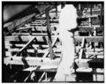 GENERAL ATTIC FLOOR FRAMING IN ELL - Penacook House, Daniel Webster Highway (U.S. Route 3), Boscawen, Merrimack County, NH HABS NH,7-BOSC,1-74.tif