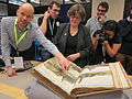 GLAMWiki 2015 Koninklijke Bibliotheek Tour 17.JPG