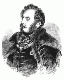 Gabriel Keglevich, Tavernicus von Ungarn 1847 Illustrirte Zeitung.png