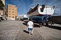 Gabriel at the Senglea waterfront, Malta (PPL3-Altered) julesvernex2.jpg