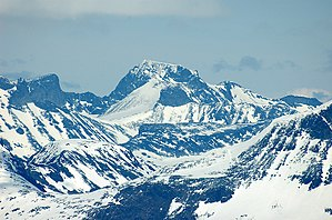 Extreme points of Norway - Galdhøpiggen is Norway's tallest peak