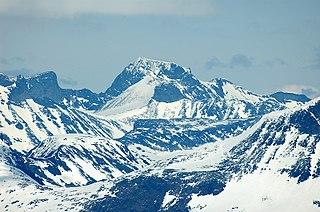 Galdhøpiggen Mountain in Lom, Innlandet, Norway