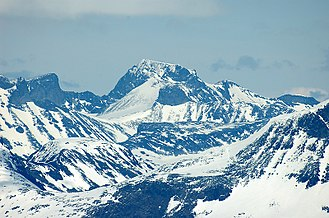 Scandinavia - Galdhøpiggen is the highest point in Scandinavia, and is a part of the Scandinavian Mountains