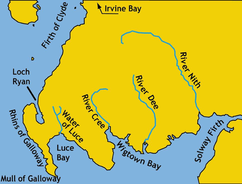 Galloway.modern.names.Ptolemy.map
