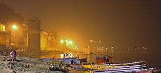 Varanasi Tehsil - Ghat in Varanasi