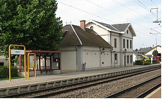 Roodt railway station