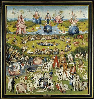 Trittico Del Giardino Delle Delizie Wikipedia