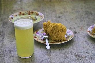 Belizean cuisine - A traditional Garifuna dinner.