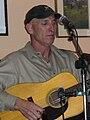 Gary Ruley with Gary Ruley and Mule Train Southern Inn Main Street downtown Lexington VA December 2008.jpg