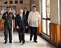 Gates Teodoro Camp Aguinaldo 090601.jpg