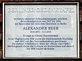 Gedenktafel Auguststr 11-13 (Mitte) Alexander Beer.jpg