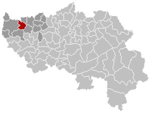 Geer - Image: Geer Liège Belgium Map