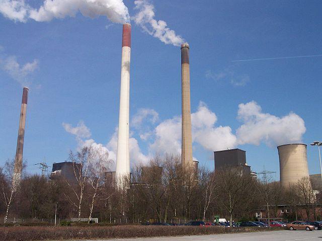 Kolkraftverk i tyska Gelsenkirchen.