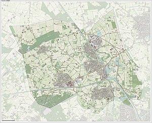 Laarbeek - Image: Gem Laarbeek Open Topo