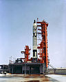 Gemini-Titan 5 at Cape Canaveral LC-19 - S65-43447.jpg