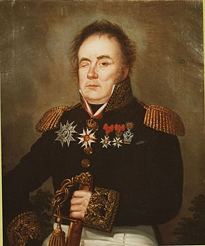 Pierre François Joseph Durutte - Portrait of General Durutte (1815)
