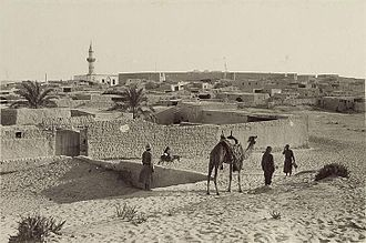 Battle of Magdhaba - General view of El Arish town