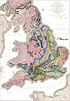 Geological map Britain William Smith 1815.jpg