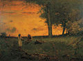 George Inness - Sunset at Montclair (1885).jpg