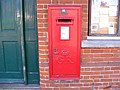 George V Postbox, Riverside Post Office, Framlingham - geograph.org.uk - 1394753.jpg