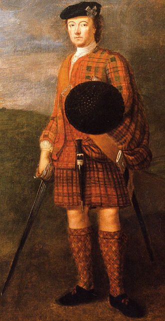John Murray, 1st Duke of Atholl - Lord George Murray 1694-1766 Died in exile in Holland.