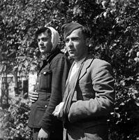 Georgische soldaten op Texel (19 november 1945).jpg