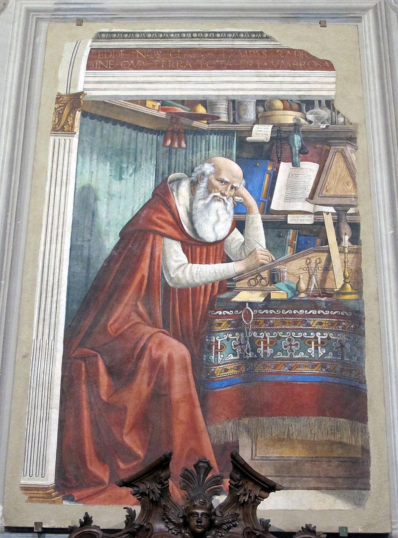 Ghirlandaio, San Girolamo nello studio, 1480, 01.JPG