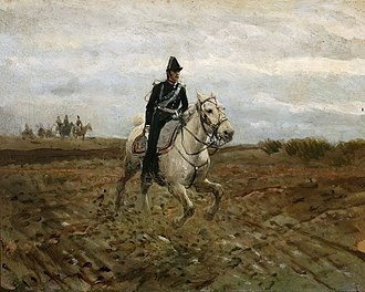 Battle of Białołęka - Image: Gierymski Adiutant sztabowy