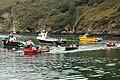 Gig (longboat) racing at Solva (3) - geograph.org.uk - 1531214.jpg