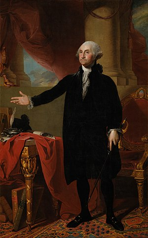 Portraits of Presidents of the United States - Image: Gilbert Stuart George Washington Google Art Project