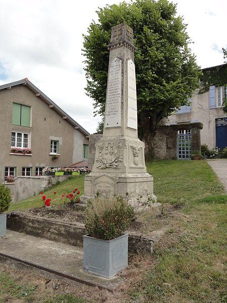 Gimécourt (Meuse) monument aux morts