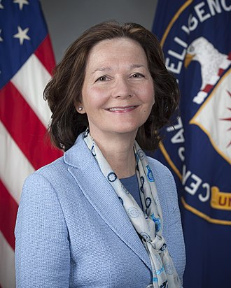 Gina Haspel, the current Director of the Central Intelligence Agency Gina Haspel official CIA portrait.jpg