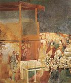 Giotto - Legend of St Francis - -24- - Canonization of St Francis.jpg