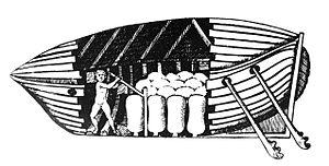 Giovanni Alfonso Borelli - Submarine, by Giovanni Alfonso Borelli, in De Motu Animalium, 1680