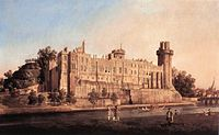 Giovanni Antonio Canal, il Canaletto - Warwick Castle - the South Front - WGA03947.jpg