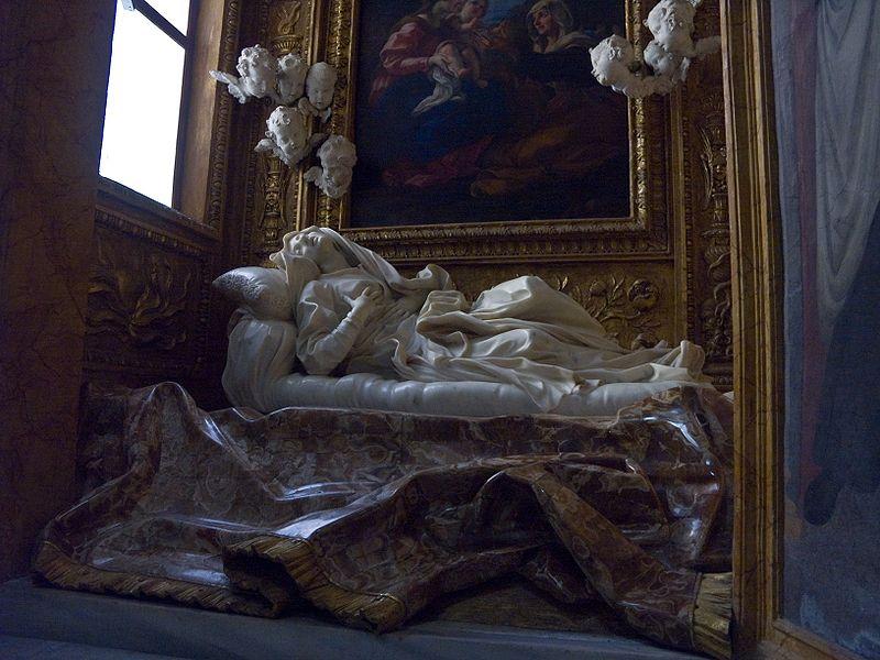 Vajarstvo kao umetnost 800px-Giovanni_Lorenzo_Bernini_-_Blessed_Ludovica_Albertoni