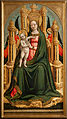 Giovanni d'Alemagna e Antonio Vivarini - The Virgin and Child Enthroned and Two Angels - Google Art Project.jpg