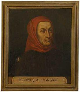 John of Legnano Italian jurist and canon lawyer