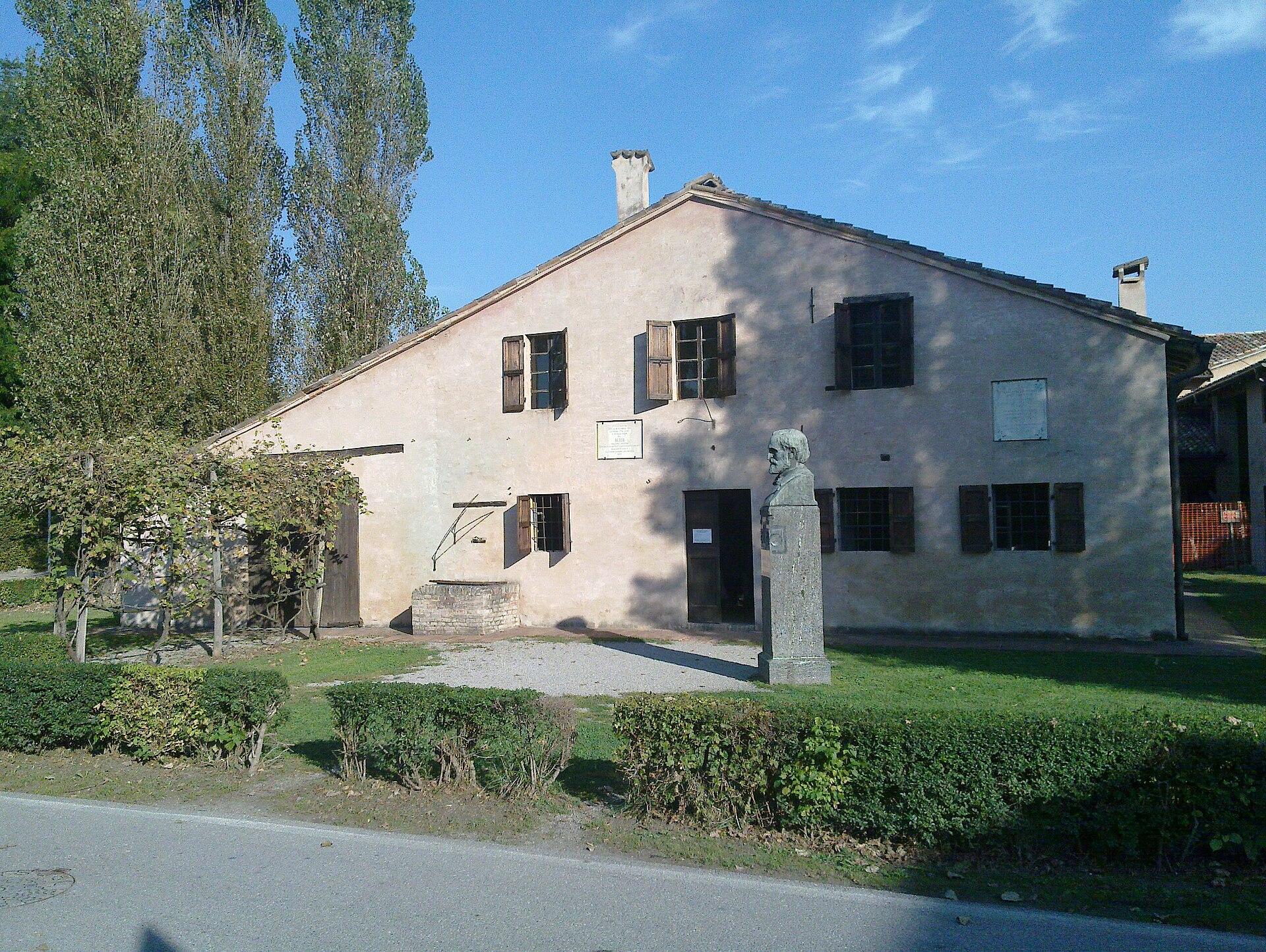 Casa natale di giuseppe verdi wikipedia for Casa immagini